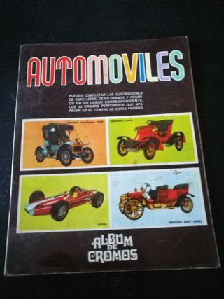 Album Automoviles cromos Completo.Ed.Susaeta.