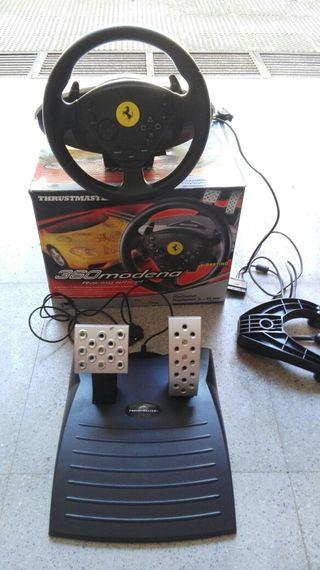 volante y pedales play station 1 y 2