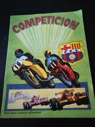 Album de cromos Competición . 76 de 180 .