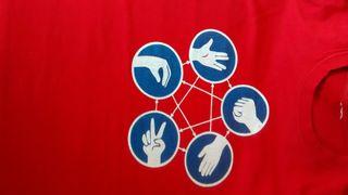 Camiseta chico talla M The big bang
