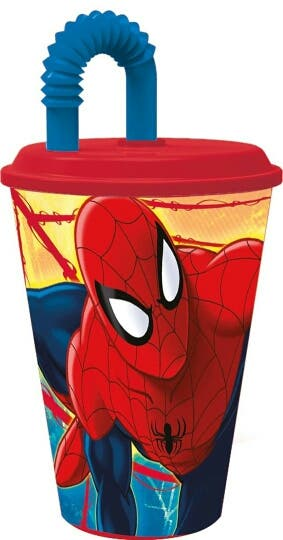 Vaso pajita SPIDERMAN