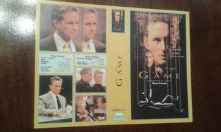 Caratula VHS The Game Nueva