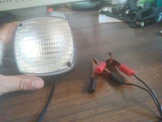 luz de bateria de coche