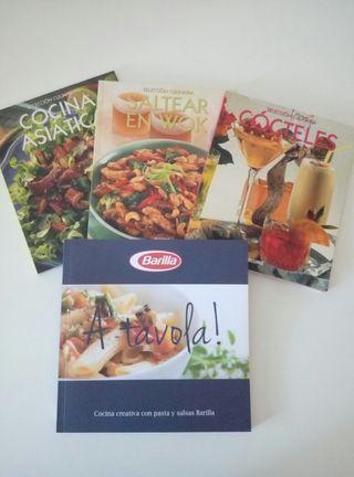 Libros de Cocina y Cócteles