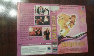 Caratula VHS Gran Bola De Fuego Nueva
