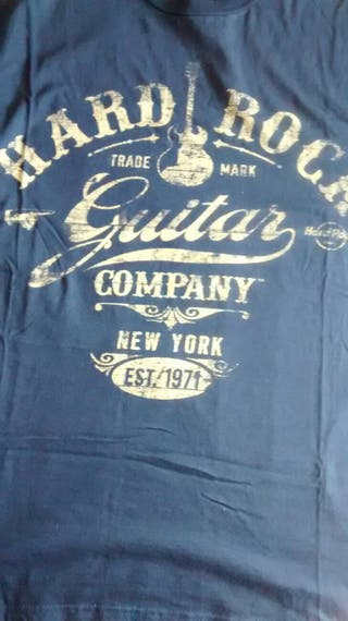 Camiseta chico talla M hard rock original new york