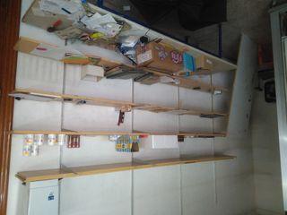 estanteria de pared