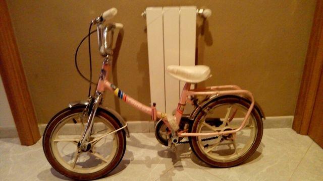 Bicicleta infantil, URGE VENDER.