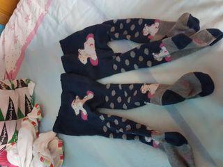 leotardos de bebe con diseños 0-6 meses
