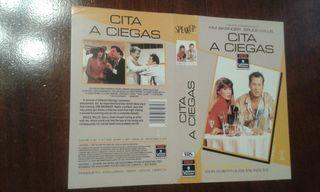Caratula VHS Cita A Ciegas