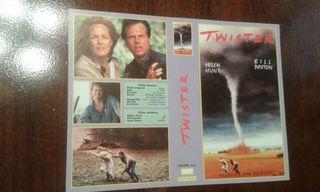 Caratula VHS Twister Nueva