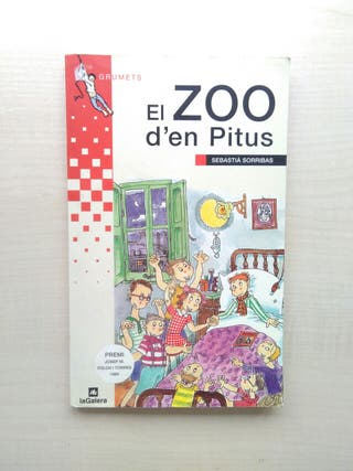 Libro el zoo d'en pitus. Sebastià Sorribas.