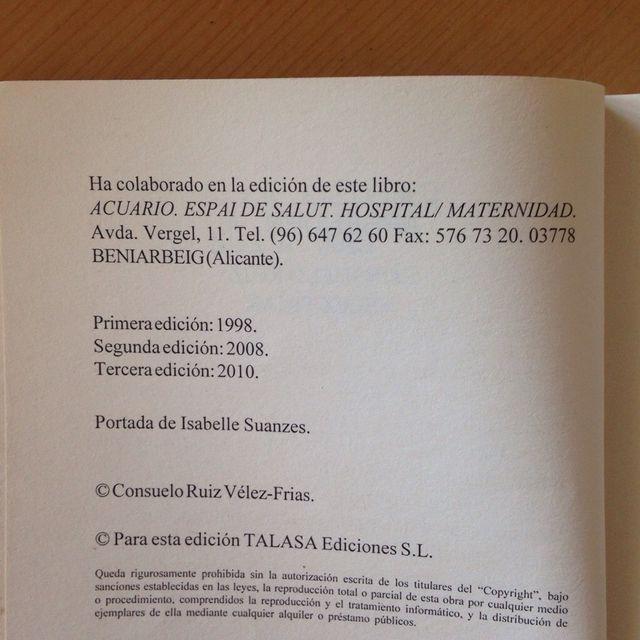 Libro Parto Natural de segunda mano por 5 € en Paterna en WALLAPOP