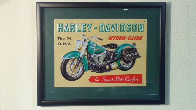 Cuadro Harley Davidson
