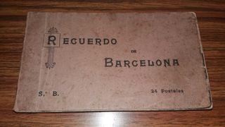 postales antigüas de barcelona