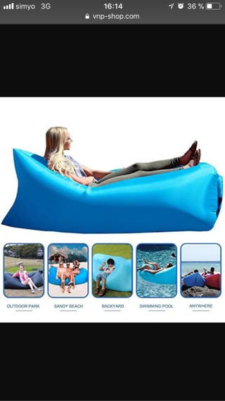 Sofa relax hinchable 5 seg (NUEVO)