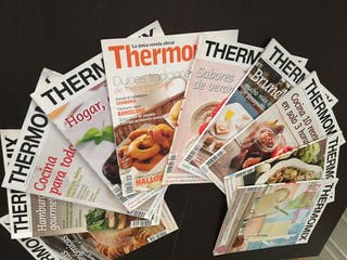 Lote de 10 Revistas oficial de thermomix