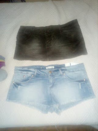 falda y pantalon talla 40