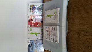 Wii + tabla+mandos+juegos