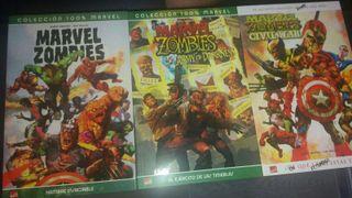 3 Comics marvel zoombies