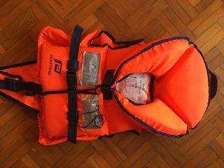 2 Chalecos salvavidas niños 20-30kg