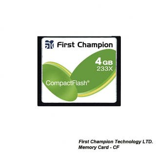 First Champion Memory Card - CF 233X
