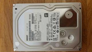 Disco duro HGST (Hitachi) NAS de 4 tb. 7200 rpm