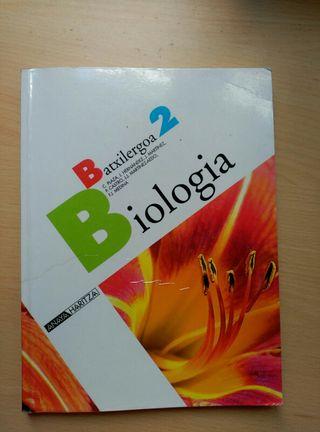 Libro Biologia liburua