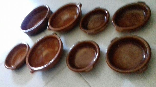 Cazuelas barro