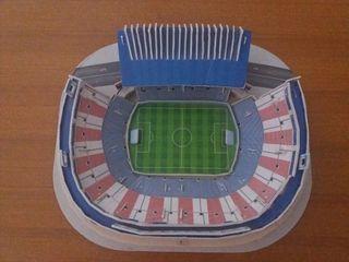 Maqueta Atlético de Madrid.