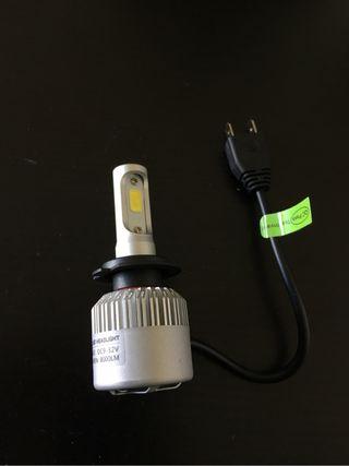 Pareja bombillas led H7 alta potencia