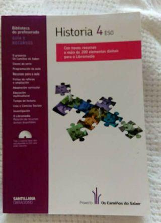 libro de texto 4 ESO