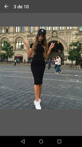 Vestido negro talla s nuevo