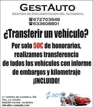 Gestión de vehículos