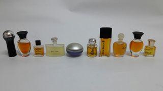 perfumes en miniatura