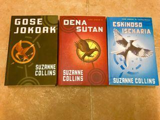 Libros euskera juegos del hambre