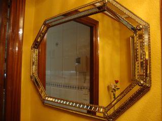 Espejo de cristal biselado