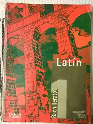 libro de latín 1° Bachillerato