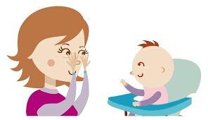 cuidador de niños o personas mayores