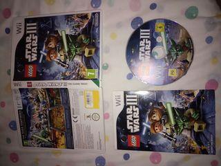 LEGO STAR WARS 3 CLONE WARS - WII