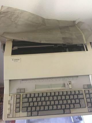 Maquina de escribir electronic