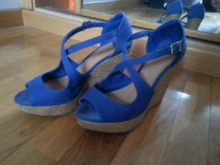cuñas azules n38