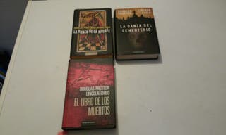 Lote de libros Douglas Preston& Lincoln Child