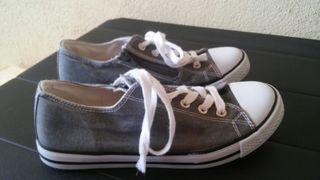 Zapatillas tex lona talla 37