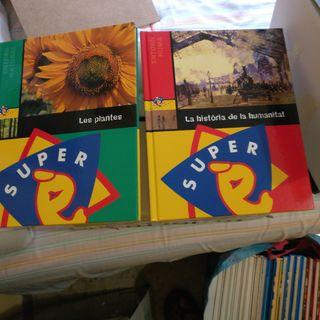 colección de enciclopedias de super 13