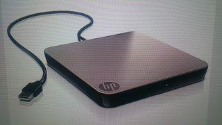 Disquetera externa HP.