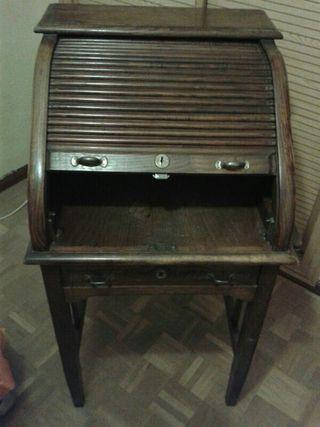 Antig edad mueble escritorio de segunda mano por 600 en madrid en wallapop - Muebles segunda mano madrid particulares ...