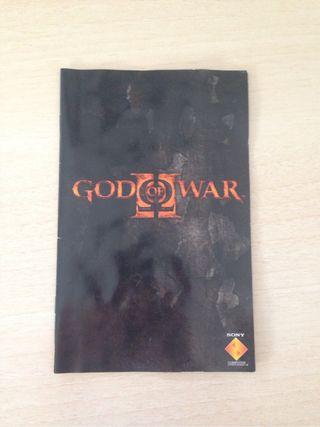 Manual God of War II - PS2