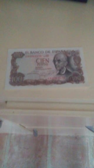 billete de 100 pesetas