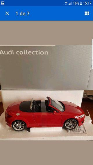 maqueta minichamps Audi TT 1.18